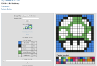5 Free Perler Bead Pattern Makers – Hative with Blank Perler Bead Template