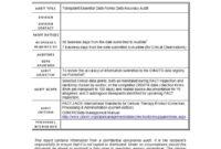 50 Free Audit Report Templates (Internal Audit Reports) ᐅ regarding It Audit Report Template Word