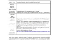 50 Free Audit Report Templates (Internal Audit Reports) ᐅ with regard to Section 37 Report Template