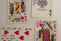 52 Things I Love About You: Old Or New Deck Of Cards intended for 52 Things I Love About You Deck Of Cards Template