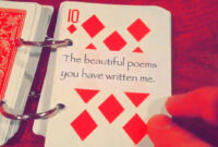 52 Things I Love About You throughout 52 Things I Love About You Deck Of Cards Template