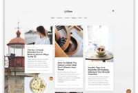 55+ Best Clean WordPress Themes 2019 – Colorlib intended for Blank Food Web Template