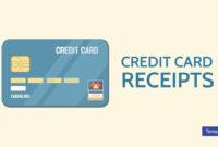 7+ Credit Card Receipt Templates – Pdf   Free & Premium inside Credit Card Receipt Template