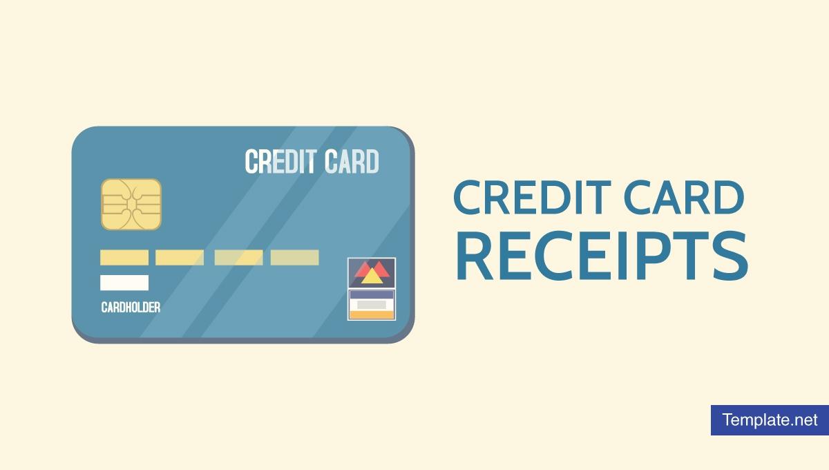 7+ Credit Card Receipt Templates - Pdf   Free & Premium Inside Credit Card Receipt Template
