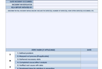 7 Free Root Cause Analysis Templates (And How To Use Them) for Failure Analysis Report Template