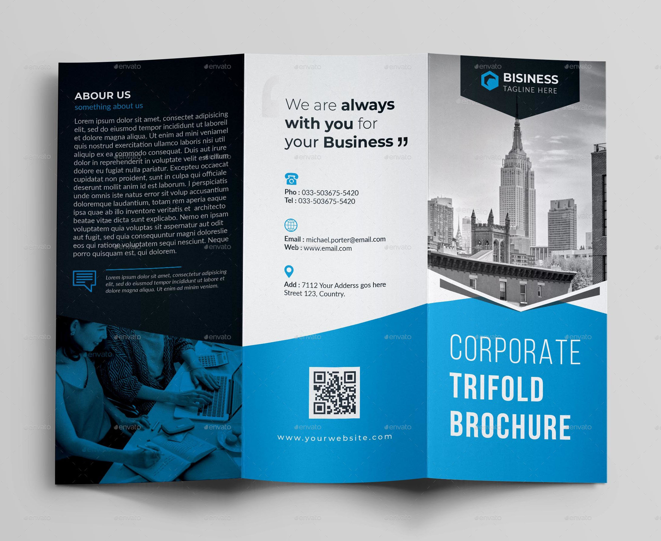 76+ Premium & Free Business Brochure Templates Psd To For Architecture Brochure Templates Free Download