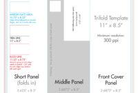 "8.5"" X 11"" Tri Fold Brochure Template – U.s. Press intended for Three Panel Brochure Template"