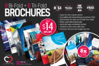 8 Print-Ready Indesign Bi-Fold & Tri-Fold Brochure Templates pertaining to Adobe Indesign Tri Fold Brochure Template