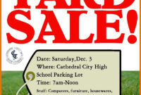 9-10 For Sale Flyer Template Word | Juliasrestaurantnj with Yard Sale Flyer Template Word
