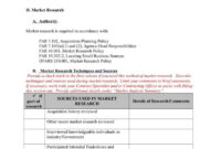 9 + Business Reports Template + Docs, Word, Pages | Free inside Market Research Report Template