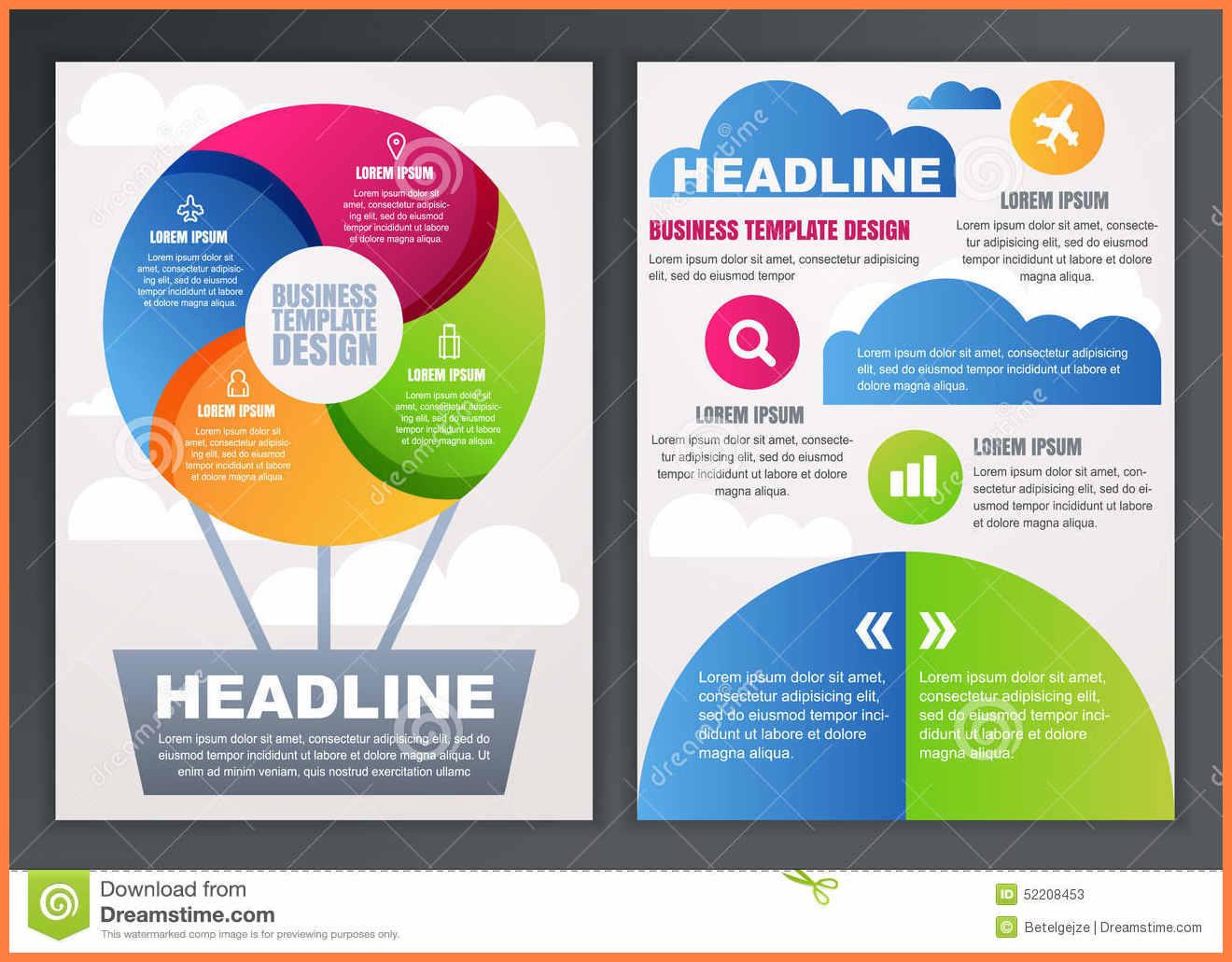 9+ Free Brochures Templates Online | Andrew Gunsberg In Online Free Brochure Design Templates
