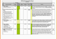 9+ Free Project Report Templates | Reptile Shop Birmingham for Project Status Report Template In Excel
