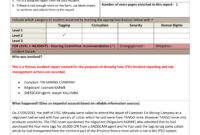 9+ Incident Report Writing Examples – Pdf | Examples within Incident Report Form Template Qld