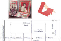 A2 (4.25 X 5.5) Side Step Card Template | Patterns For Card regarding A2 Card Template