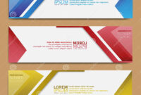 Abstract Banner Design, Modern Web Template, Promotional with regard to Tie Banner Template