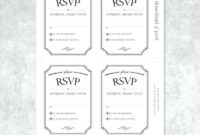 Acceptance Card Template Final Simply Print Preview Wedding with regard to Acceptance Card Template