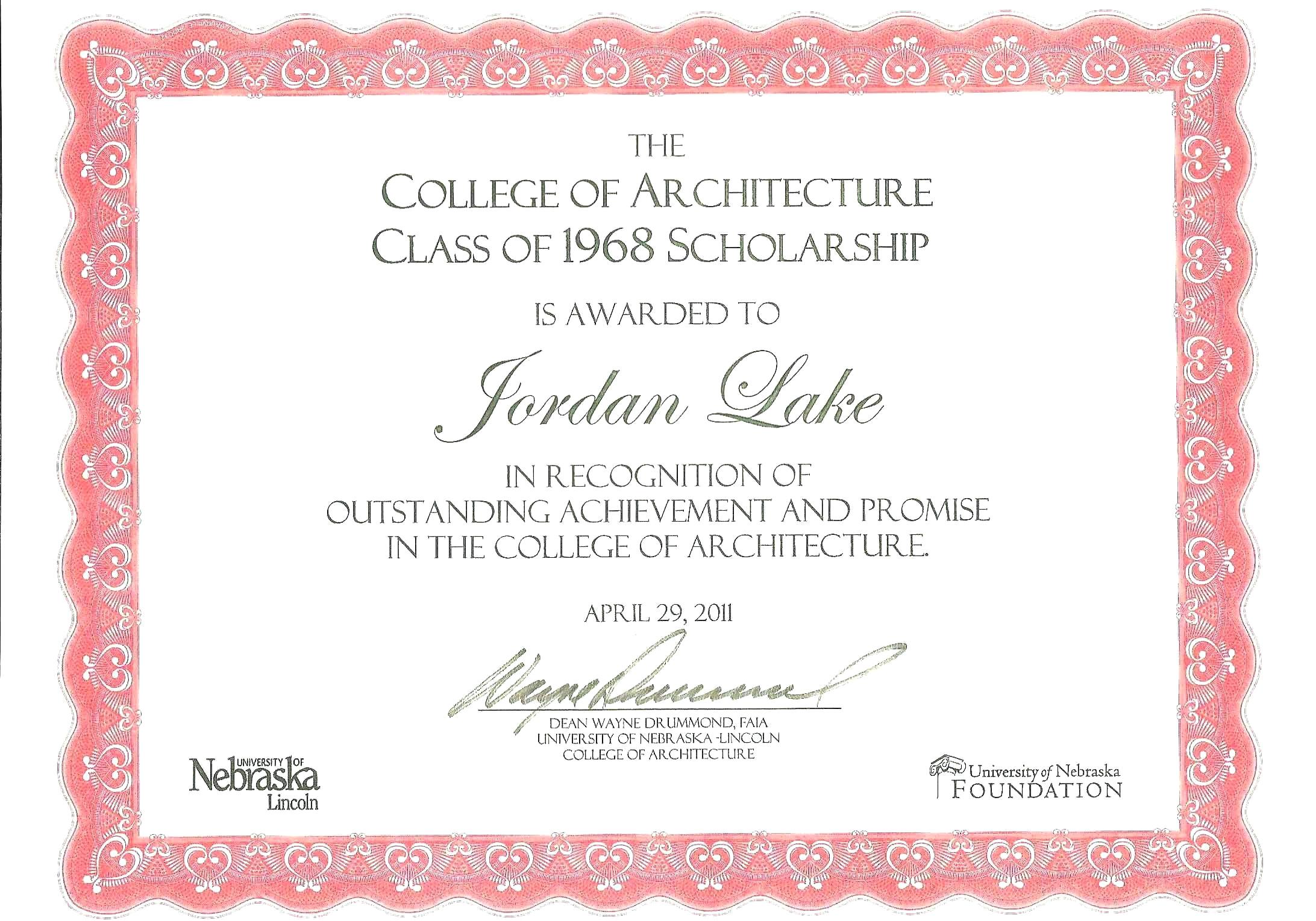 Adoption Certificate Templates Scholarship Template Word Inside Scholarship Certificate Template