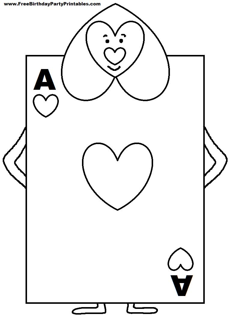 Alice In Wonderland Card Soldiers Printable Cutout   Picture Pertaining To Alice In Wonderland Card Soldiers Template