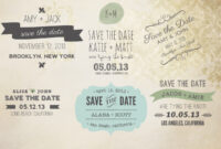 All Products : 7Thavenue Designs :: Logo And Templates inside Save The Date Templates Word