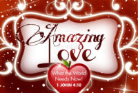 Amazing Love Valentine Powerpoint Template | Valentines Day inside Valentine Powerpoint Templates Free