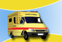 Ambulance Backgrounds For Powerpoint - Health And Medical with regard to Ambulance Powerpoint Template