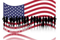 American Business People Powerpoint Templates – Business intended for American Flag Powerpoint Template