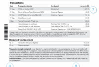 American Express Bank Statement Template The Seven Steps throughout Acquittal Report Template