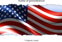 American Flag Powerpoint Template | Templates | Templates with American Flag Powerpoint Template