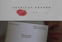 American Psycho Quotes Business Card Cards   Pozycjoner inside Paul Allen Business Card Template