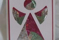 Angel Iris Folded Card. | Iris Folding Cards | Iris Folding inside Iris Folding Christmas Cards Templates