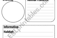 Animal Report Template – Esl Worksheetflora.m123 throughout Animal Report Template
