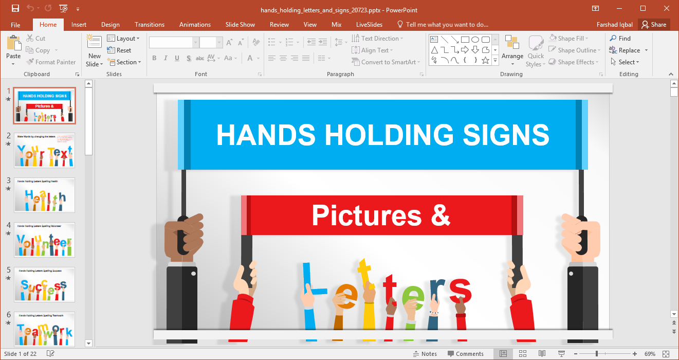 Animated Signboards Powerpoint Template Pertaining To Replace Powerpoint Template