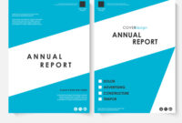 Annual Report Cover Design Template Inside Ind Annual Report Template