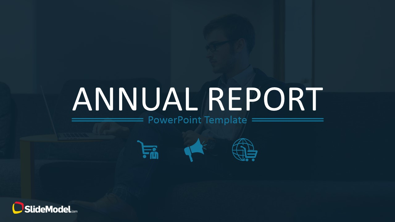 Annual Report Template For Powerpoint Regarding Annual Report Ppt Template