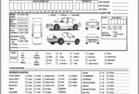 Annual Vehicle Inspection Report Form Free Template in Vehicle Inspection Report Template
