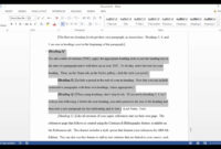 Apa Template In Microsoft Word 2016 with regard to Apa Template For Word 2010