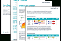 Application Patch Rate Report – Sc Report Template | Tenable® in It Management Report Template
