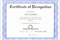 Appreciation Certificate Templates For Word pertaining to Template For Certificate Of Appreciation In Microsoft Word