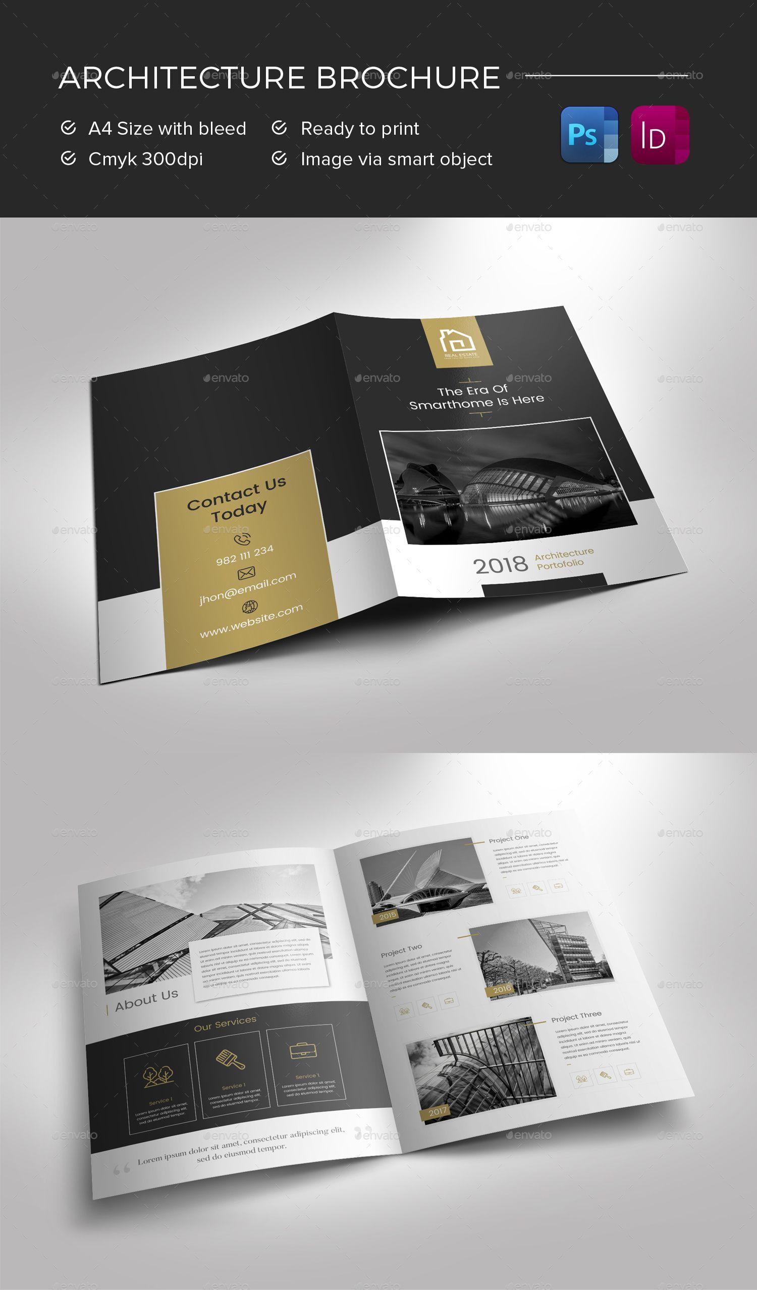Architecture Brochure Preview – Graphicriver | Brochure Intended For Architecture Brochure Templates Free Download
