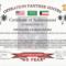 Army Certificate Of Appreciation Wording | Doyadoyasamos In Army Certificate Of Achievement Template