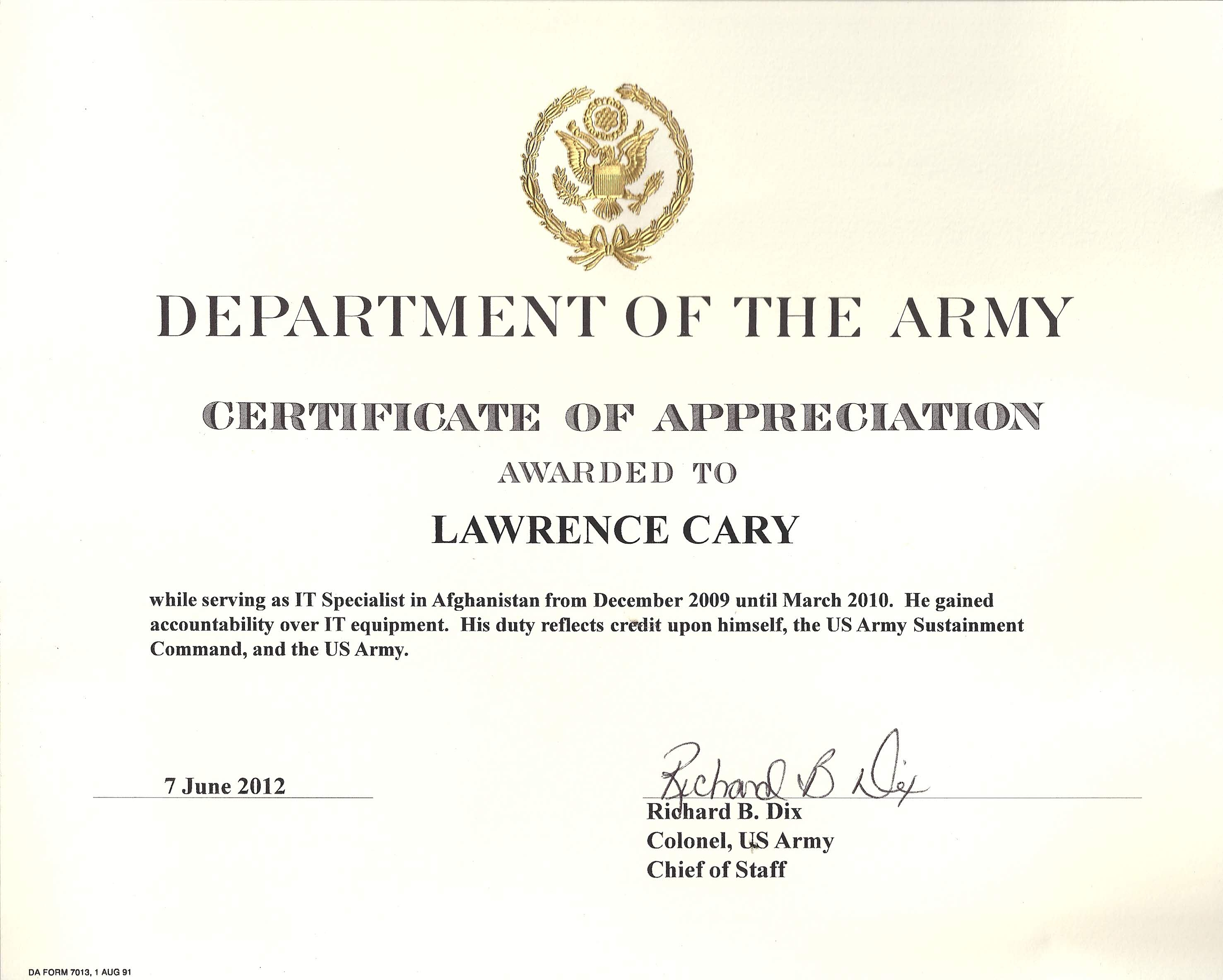 Army Certificate Of Completion Template - Atlantaauctionco For Army Certificate Of Completion Template