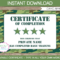 Army Party Printables, Invitations & Decorations – Camo For Boot Camp Certificate Template
