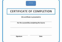 As An Employee Or College Student, It Is Common To Receive A throughout Workshop Certificate Template