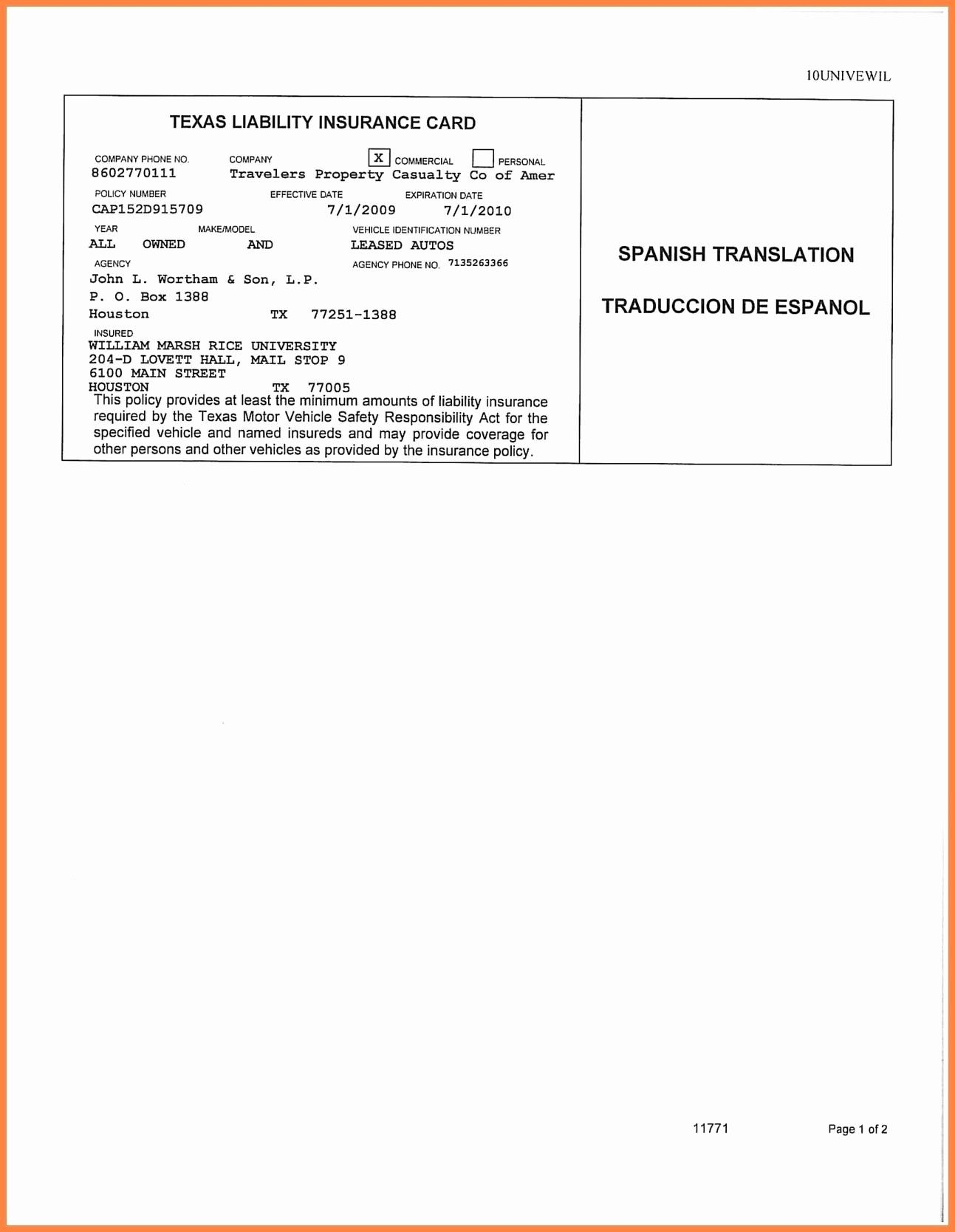 Auto Insurance Card Template Free Download #2 | Projects To Within Car Insurance Card Template Download