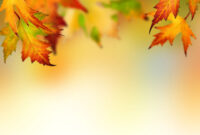 Autumn Leaves Backgrounds For Powerpoint – Flower Ppt Templates For Free Fall Powerpoint Templates