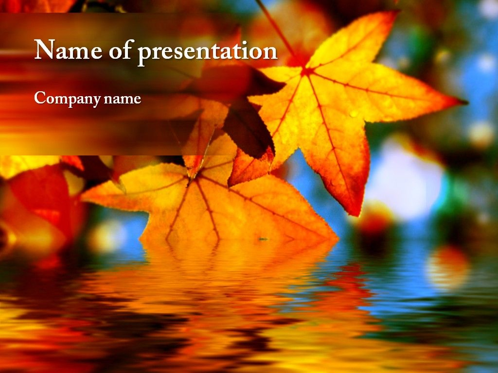 Autumn Powerpoint Template | Autumn Awesome | Powerpoint Throughout Free Fall Powerpoint Templates