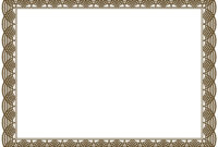 Award Certificate Border Pdf Template In Certificate Border Inside Award Certificate Border Template