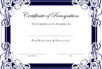 Award Certificate Template Publisher Fresh Award Certificate In Award Certificate Border Template
