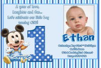 Awesome Best First Birthday Invitation Wording Designs with regard to First Birthday Invitation Card Template