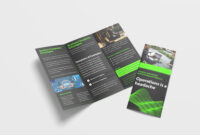 Awesome Business Tri Fold Brochure Design Template | 99Effects inside Pop Up Brochure Template